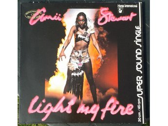AMII STEWART - LIGHT MY FIRE 12""