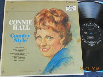 CONNIE HALL - Country Style, Vocalion LP USA 1967