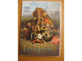 FREE JIMMY - ANIMERAD NORSK - SVART KOMEDI - DVD - Hörby - FREE JIMMY - ANIMERAD NORSK - SVART KOMEDI - DVD - Hörby