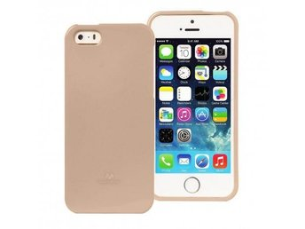 Mercury Jelly Case Apple iPhone 5,5S,5SE Färg: Guld