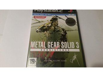 Metal Gear Solid 3 Subsistence PS2