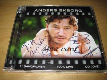ANDERS EKBORG - 11 SÅNGFILMER OCH 100% LIVE. CD DVD! - Uppsala - ANDERS EKBORG - 11 SÅNGFILMER OCH 100% LIVE. CD DVD! - Uppsala