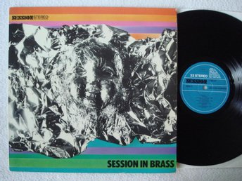 NATHAN DAVIS/HANS KOLLER, Session In  Brass, GE-1970 LP