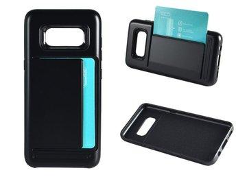 Mobilskal med korthållare till Samsung Galaxy S8 Svart - Helsingborg - Mobilskal med korthållare till Samsung Galaxy S8 Svart - Helsingborg