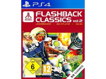 Atari Flashback Classic Vol 2 PS4 (PS4)