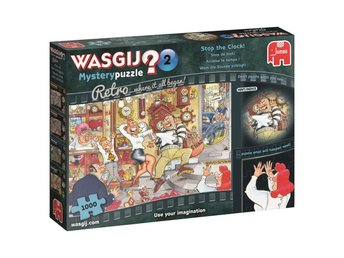 Wasgij Mystery 2 Stop the Clock Retro Pussel 1000 bitar 1915