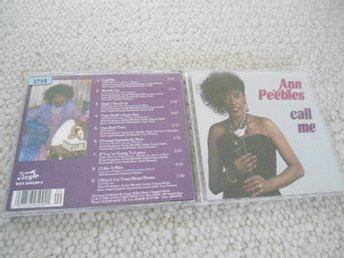 CD : ANN PEEBLES : CALL ME  1989