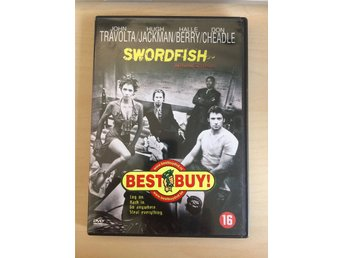 Swordfish DVD Ej sv. text