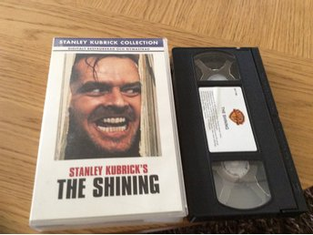 THE SHINING VHS Svensk text Jack Nicholson,Shelley Duvall av Stephen King