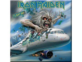 Kylskåpsmagnet Iron Maiden - Flight 666