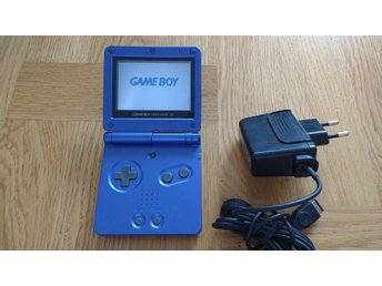 Gameboy / GBA / Game Boy Advance SP (AGS-001) + laddare