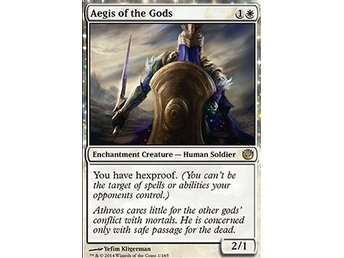 Magic the Gathering - Journey into Nyx - Aegis of the Gods - FOIL