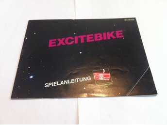 NES: Manualer: Excitebike (End. manual -Tysk)