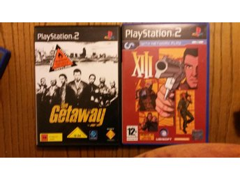PS2 The Getaway+ XIII (with network play)