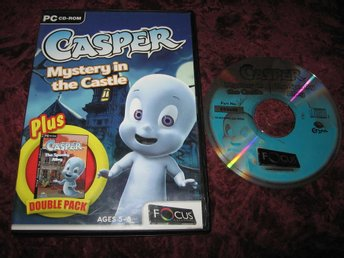 CASPER MYSTERY IN THE CASTLE + THE SPOOKY ALLEY PC CD-ROM