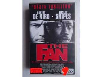 VHS film - The Fan - Robert De Niro / Wesley Snipes