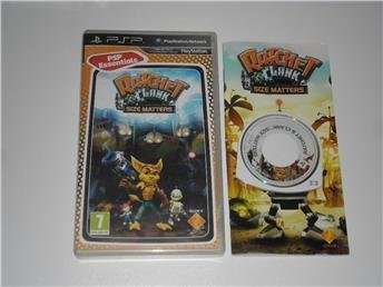 1KR PlayStation Portable PSP Ratchet & Clank Size Matters