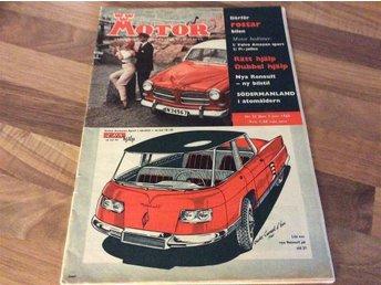 Motor 1960-22 Volvo Amazon S 1960 Stor Test - Filipstad - Motor 1960-22 Volvo Amazon S 1960 Stor Test - Filipstad