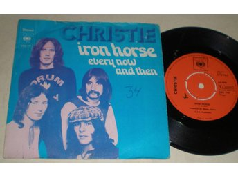 Christie 45/PS Iron horse 1972 VG++