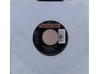 Def Leppard title* Make Love Like A Man / Miss You In A Heartbeat* US 7""