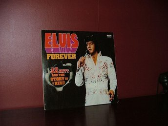 LP Elvis Presley. Elvis Forever - 32 Hits And The Story Of A King  2LP