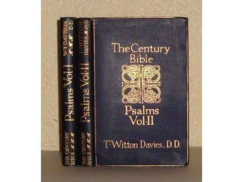 The Century Bible. The Psalms, Vol I-II.