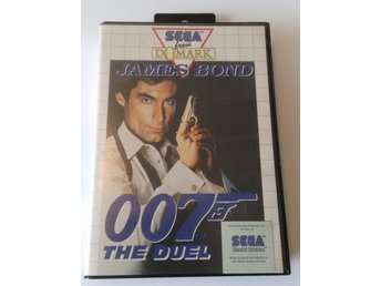 Sega Master System James Bond 007 The Duel Komplett