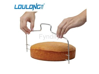 Double Wires Cake Cutter/Slicer/Leveler