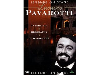 Pavarotti: Legends on stage (Dokumentär) (DVD)