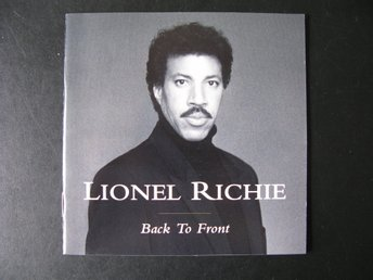 CD: LIONEL RICHIE: BACK TO THE FRONT
