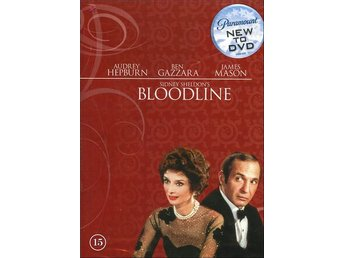 Bloodline - Sidney Sheldon - 1979 (Audrey Hepburn, James Mason)