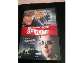 Dvd, Action thriller, spy game, Brad pitt