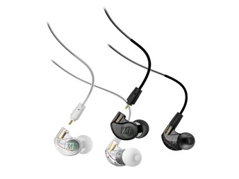 In-Ear hörlurar  avtagbara kablar MEE audio  M6 PRO 2ND GENERATION Svart/Smoke