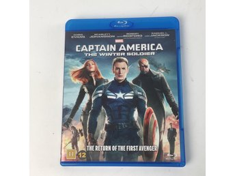 Blu-ray Film, Captain America The Winter Soldier