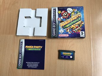 Mario Party Advance SCN CIB - Game Boy Advance