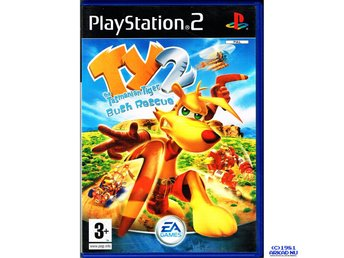 TY THE TASMANIAN TIGER 2 BUSH RESCUE PS2