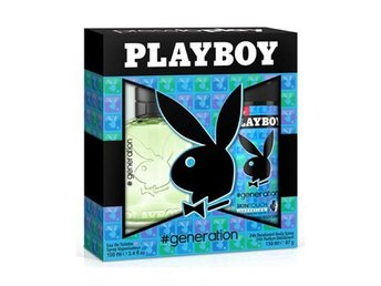 Giftset Playboy Generation Edt 60ml + DSP 150ml