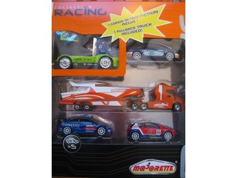 Simba Metall Bilar Cars Majorette - Racing Set Powerboat