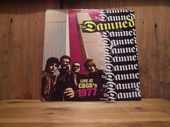 THE DAMNED / CBGB's 1977 (LP / NYSKICK / PUNK)