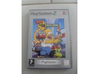 The Simpsons: Hit & Run, PS2, PAL