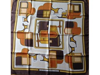 "HERMES  SCARF  ""LES COUPES"""