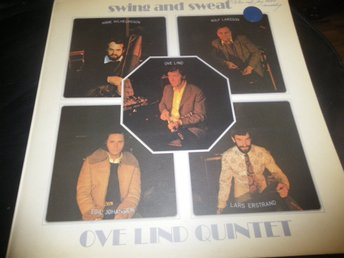 swing and sweet ove lind quintet lp