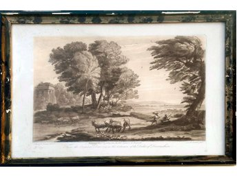 Richard Earlom (1743-1822), etsning, mezzotint ; nr 159