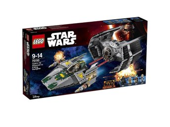 Lego Star Wars 75150 Vader's TIE advanced vs A-wing - ny/oöppnad