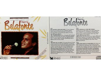Harry Belafonte, The very best of (4CD)