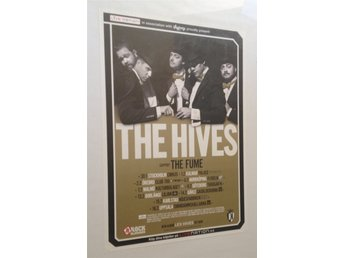 The Hives - Sweden 2013 - Poster - 50x70cm