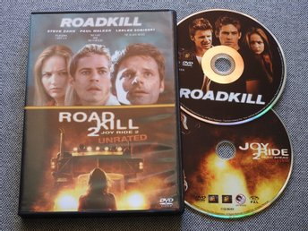 Roadkill / Roadkill 2 DVD (Joy Ride 2) Steve Zahn, Paul Walker, Leelee Sobieski