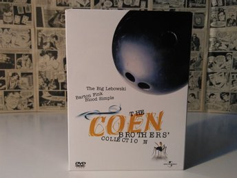 The Coen Brothers' Collection DVD (3 disc digipack)