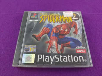PS1 Spider-Men 2 Enter Electro Komplett Mycket Fint Skick