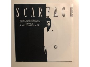 "7"" Paul Engemann - Scarface 83 UK Hi NRG Synth pop Al Pacino"
